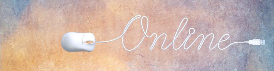 Scritta on-line fatta con un mouse